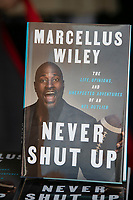 "Marcellus Wiley, Author of ""Never Shut Up: The Life, Opinions, and Unexpected Adventures of an NFL Outlier,"" interviewed by Angel Rodriguez at the Los Angeles Times Festival of Books held at the USC Campus in Los Angeles, California on Sunday, April 14, 2019"