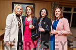 Angela O'Brien, Mori Sery, Lisa and Becky Brassil attending the Daily Diva and Stuart's Select Style Autumn/Winter Fashion Fix  show in aid of Recovery Haven Kerry in the Ballygarry House Hotel on Saturday night.