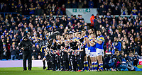 Picture by Allan McKenzie/SWpix.com - 08/02/2018 - Rugby League - Betfred Super League - Leeds Rhinos v Hull KR - Elland Road, Leeds, England - Leeds Rhinos linne up at Elland Road.