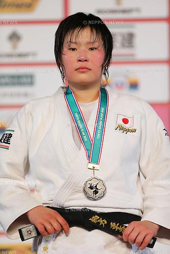 Akari Ogata (JPN), .December 2, 2012 - Judo : .Grand Slam Tokyo 2012, Women's 78kg class Medal Ceremony .at Yoyogi 1st Gymnasium, Tokyo, Japan. .(Photo by Daiju Kitamura/AFLO SPORT) [1045]