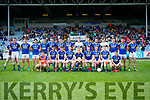 Kerry team against  Meath in the All Ireland Junior Football Final at O'Moore Park, Portlaoise on Saturday.