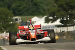 10 August 2007: Justin Wilson (XEN) at the Champ Car Generac Grand Prix at Road America, Elkahart Lake, WI.