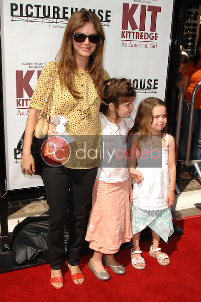"""Rachel Bilson with her sister and her friend<br />at the world premiere of """"Kit Kittredge: An American Girl"""". The Grove, Los Angeles, CA. 06-14-08<br />Dave Edwards/DailyCeleb.com 818-249-4998"""