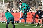 09.01.2020, Sportzentrum RCD Mallorca, Son Bibiloni, ESP, TL Werder Bremen -  Training Tag 07<br /> <br /> im Bild / picture shows <br /> Jiri Pavlenka (Werder Bremen #01)<br /> Torwarttraining<br /> <br /> Foto © nordphoto / Kokenge