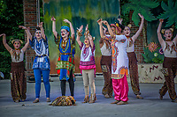 Westerville Childrens Theater production of The Lion King Jr. at Alum, Creek Amphitheater.