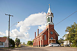 Red brick church: Mary, Queen of Heaven, Sprague, Wash.