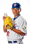 Pan, Wei-Lun of Team Chinese Taipei poses during WBC Photo Day on February 25, 2013 in Taichung, Taiwan. Photo by Victor Fraile / The Power of Sport Images