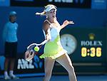 Caroline Wozniacki (DEN) Defeats Donna Vekic (CRO) 6-1, 6-4