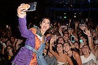 FORT LAUDERDALE , FL - JUNE 11: Dua Lipa pictured during Hits 97.3 Sessions at America's Backyard on June 11, 2018 in Fort Lauderdale, Florida. <br /> CAP/MPI04<br /> &copy;MPI04/Capital Pictures