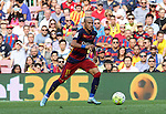 26.09.2015 Barcelona. La Liga day 6. Picture show Neymar in action during game between FC Barcelona against Las Palmas at Camp Nou.