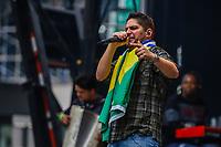 NOVA YORK (EUA) 01.09.2019 - BRAZILIAN-DAY - Dupla Jorge e Mateus durante Brazilian Day ( BRDay) na cidade de Nova York neste domingo, 01. (Foto: Vanessa Carvalho/Brazil Photo Press)