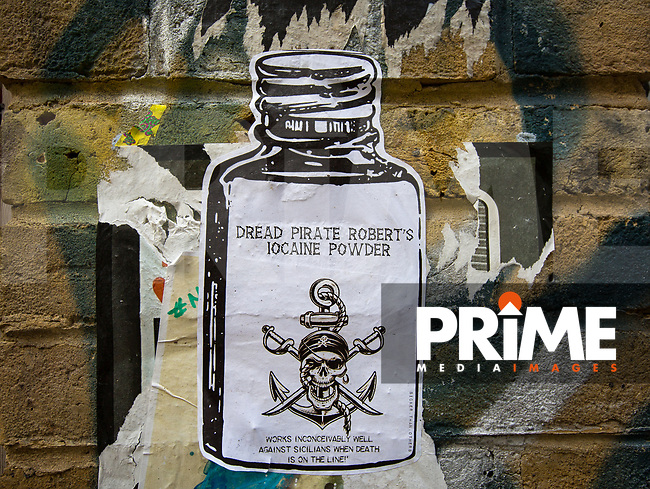 Paste up by SICKER.THAN.OTHERS (sick n twisted) - Street Art London in and around Brick Lane / Shoreditch  on 7 September 2018. Photo by Andy Rowland.
