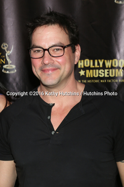 LOS ANGELES - APR 27:  Tyler Christopher at the 2016 Daytime EMMY Awards Nominees Reception at the Hollywood Museum on April 27, 2016 in Los Angeles, CA