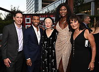 LOS ANGELES - SEPTEMBER 21: (L-R) Eric Schrier, President, FX Entertainment, Dyllón Burnside, Lou Eyrich, Dominique Jackson, and Sherry Marsh attend the FX Networks & Vanity Fair Pre-Emmy Party at Craft LA on September 21, 2019 in Los Angeles, California. (Photo by Frank Micelotta/FX/PictureGroup)