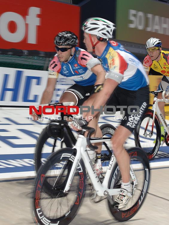 09.01.2014, &Ouml;VB Arena, Bremen, GER, Sixdays Bremen, im Bild Nicky Cocquyt / Tino Th&ouml;mel (Team Citipost #11)<br /> <br /> Foto &copy; nordphoto / Frisch