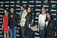Tiago Mendes And Koke attend the 40 Principales Awards at Barclaycard Center in Madrid, Spain. December 12, 2014. (ALTERPHOTOS/Carlos Dafonte) /NortePhoto