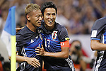 (L-R) Keisuke Honda Makoto Hasebe (JPN), SEPTEMBER 1, 2016 - Football / Soccer :<br /> FIFA World Cup Russia 2018 Asian Qualifier<br /> Final Round Group B<br /> between Japan - United Arab Emirates<br /> at Saitama Stadium 2002, Saitama, Japan.<br /> (Photo by Yusuke Nakanishi/AFLO SPORT)