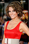 "TV Personality Maria Menounos arrives at the Los Angeles Premiere Of ""Tropic Thunder"" at the Mann's Village Theater on August 11, 2008 in Los Angeles, California."