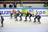 SHORT TRACK: TORINO: 14-01-2017, Palavela, ISU European Short Track Speed Skating Championships, Semifinals Relay Men, ©photo Martin de Jong