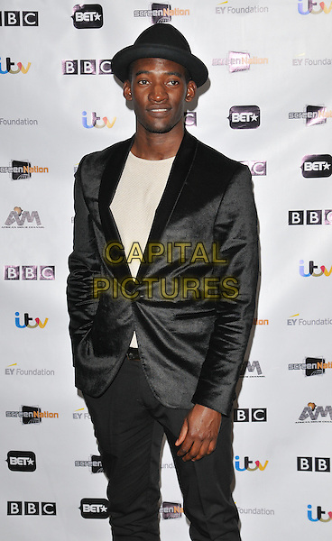 Malachi Kirby attends the 11th Annual Screen Nation Film &amp; Television Awards 2016, Hilton London Metropole Hotel, Edgware Road, London, UK, on Saturday 19 March 2016.<br /> CAP/CAN<br /> &copy;Can Nguyen/Capital Pictures