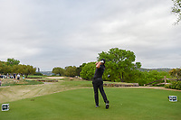 Tyrrell Hatton (ENG) watches his tee shot on 6 during day 4 of the WGC Dell Match Play, at the Austin Country Club, Austin, Texas, USA. 3/30/2019.<br /> Picture: Golffile | Ken Murray<br /> <br /> <br /> All photo usage must carry mandatory copyright credit (© Golffile | Ken Murray)