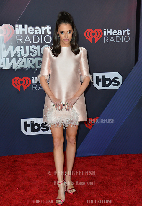 Chloe Bridges at the 2018 iHeartRadio Music Awards at The Forum, Los Angeles, USA 11 March 2018<br /> Picture: Paul Smith/Featureflash/SilverHub 0208 004 5359 sales@silverhubmedia.com