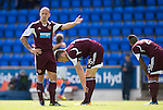 St Johnstone v Hearts...04.08.13 SPFL<br /> Jamie Hamill reacts to Stevie May's goal<br /> Picture by Graeme Hart.<br /> Copyright Perthshire Picture Agency<br /> Tel: 01738 623350  Mobile: 07990 594431