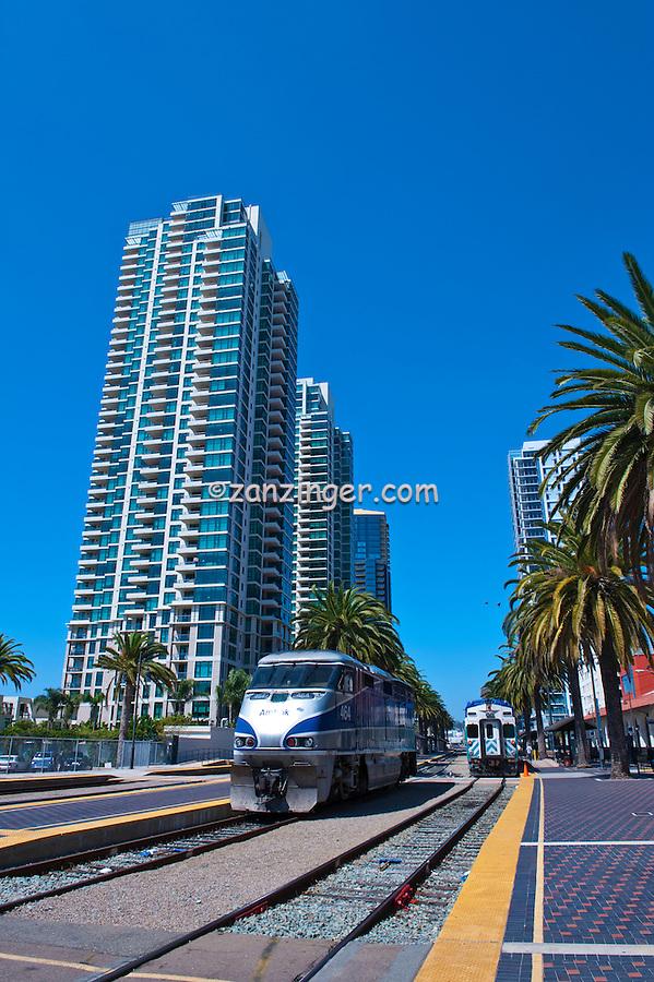 The Grande, Santa Fe Place, San Diego, Ca,  Architect, Perkins & Company, Architecture, Amtrak, Union Station, California,