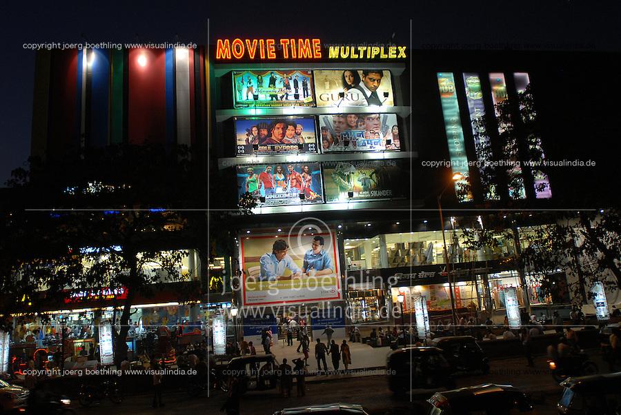 INDIA Mumbai Bombay, Multiplex cinema in Goregoan shows Bollywood movies / INDIEN Bombay, Multiplex Kino in Goregoan zeigt Bollywood Filmproduktionen
