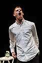 """London, UK. 29.03.2017. Sadler's Wells presents WILD CARD: DAN DAW in the Lilian Baylis Studio. Wild Card is a chance to see work by a new generation of dance makers curating a series of special evenings.<br /> <br /> Dance maker and performer Dan Daw curates an evening of collaborations exploring the notions of 'success' and 'failure', highlighting the role of the audience's perception in distinguishing the two.<br /> <br /> Alongside a collaboration specially made for the evening by dance artists Lucy Suggate and Hannah Buckley, Dan has invited performer Keren Rosenberg and British performance and visual artist Graham Adey to present their new work """"Gender Fuck[er]"""". Dan performs his new solo """"On One Condition"""",  also conceived by Graham Adey. Picture shows:  Dan Daw, in ON ONE CONDITION. Photograph © Jane Hobson."""