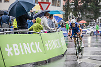 Dries Devenyns (BEL/Quick Step Floors)<br /> <br /> <br /> Binckbank Tour 2017 (UCI World Tour)<br /> Stage 2: ITT Voorburg (NL) 9km