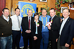 Drogheda Lions Club Christmas presentations (from left) Alan Clarke, Mark McGowan, Stephen Barriscale of Tesco Bettystown, Geraldine Murray of Tesco Drogheda, Lions Club President Brian Browning, Shane Mangan of Tesco West Street and Niall Keelaghan of Drogheda Lions Club. www.newsfile.ie