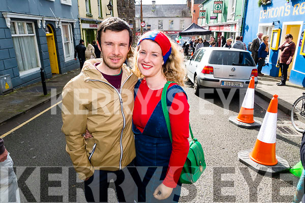 Danny Riordan and Maria Moynihan, Tralee, pictured at the Dingle Food Festival on Saturday last.