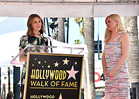 LOS ANGELES, CA. August 29, 2019: Sofia Coppola & Kirsten Dunst at the Hollywood Walk of Fame Star Ceremony honoring Kirsten Dunst.<br /> Pictures: Paul Smith/Featureflash