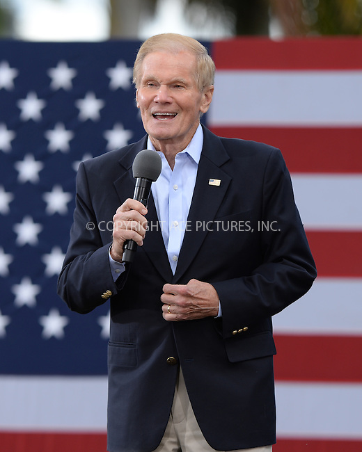 www.acepixs.com<br /> <br /> October 24 2016, West Palm Beach<br /> <br /> Senator Bill Nelson campaigns for Hillary Clinton in the Meyer Amphitheater on October 24 2016 in West Palm Beach, FL.<br /> <br /> <br /> <br /> <br /> By Line: Solar/ACE Pictures<br /> <br /> ACE Pictures Inc<br /> Tel: 6467670430<br /> Email: info@acepixs.com<br /> www.acepixs.com
