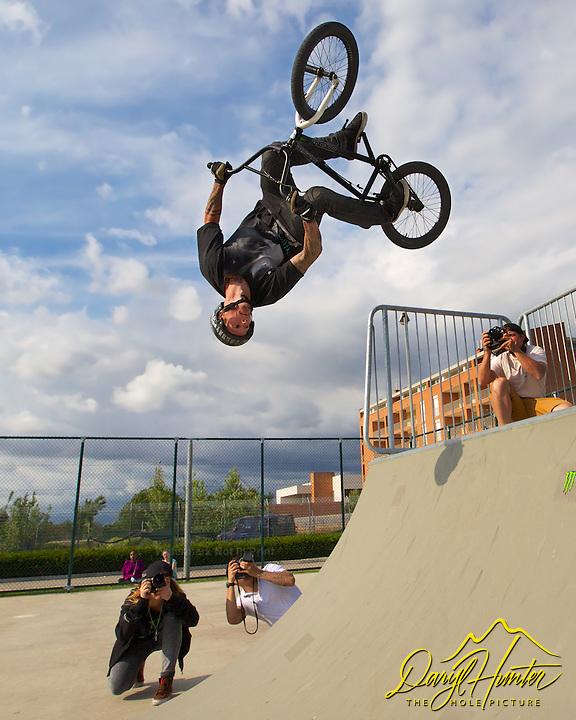 Backflip, Vans BMX team, Naples, Italy