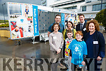At the IT Tralee  Spring Open Day on Saturday were Carol Fitzgerald, Schools Liaison, ITT, Jack Rusk, Harry Rusk, Brid McElligott, Vice President - Research, Development, ITT Back l-r Ben Slimm, Digital Marketing Officer, ITT, Siobhan Creedon, Lecturer ITT, Joe Walsh, Head of School of STEM, ITT