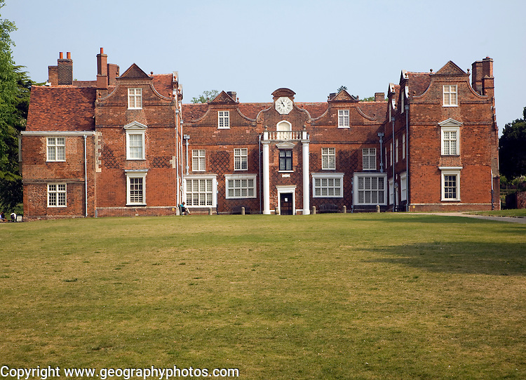 Christchurch mansion now a museum built by Sir Edmund Withipoll in 1548-50, Ipswich, Suffolk, England