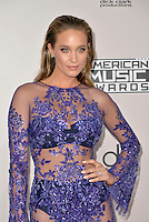 LOS ANGELES, CA - NOVEMBER 20: Hannah Davis at the 44th Annual American Music Awards at the Microsoft Theatre in Los Angeles, California on November 20, 2016. Credit: Koi Sojer/Snap'N U Photos/MediaPunch