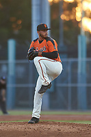 AZL Giants Orange relief pitcher Jorge Labrador (86) during a game against the AZL Angels at Giants Baseball Complex on June 17, 2019 in Scottsdale, Arizona. AZL Giants Orange defeated AZL Angels 8-4. (Zachary Lucy/Four Seam Images)