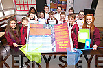 Pupils from Mercy Moyderwell primary school are heading to Dublin today (Thursday) to take part in the BT Young Scientist Exhibition. Pictured were: Erica Pilch, Kristian Lewandowski, Claudia O'Rahilly, Ellla Itsede, Millie Moore-Brew, Alex Ryan, Patricia Cronin, George Reidy, Leah Canty, Michael Kerins, Aleksa Grubjesk, Oisín Spillane and Katherine Belyakov.