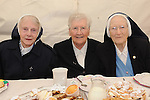 Sr Immaculata, Sr Bosco and Sr Dominick the last 3 remaining nuns from Mercy Convent who are leaving. Photo: www.colinbellphotos.com
