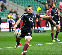 Rugby Union. Twickenham, England. Danny Care of England in action during the QBE international match between England and Australia for the Cook Cup at Twickenham Stadium on November 10, 2012 in Twickenham, England