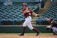 Temple University Owls infielder Derek Parerson (22) during a game against the University of Louisville Cardinals at Campbell's Field on May 10, 2014 in Camden, New Jersey. Temple defeated Louisville 4-2.  (Tomasso DeRosa/ Four Seam Images)
