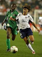 Joy Fawcett, Perpetua Nkwocha 2003WWC USA Nigeria
