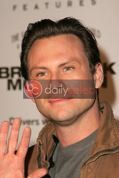 """Christian Slater<br />at the premiere of """"Brokeback Mountain"""". Mann National Theatre, Westwood, CA. 11-29-05<br />Dave Edwards/DailyCeleb.com 818-249-4998"""