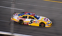 May 1, 2009; Richmond, VA, USA; NASCAR Nationwide Series driver Mark Martin during the Lipton Tea 250 at the Richmond International Raceway. Mandatory Credit: Mark J. Rebilas-