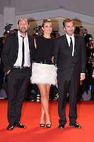 August 30, 2012: Kad Merad, Cecile De France and Xavier Giannoli attend the &quot;Superstar&quot; Screening during the 69th Venice International Film Festival at Palazzo del Casino in Venice, Italy..Credit: &copy; F2F / MediaPunch Inc. /NortePhoto.com<br />
