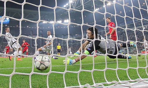 23.02.2016. Turin, Italy. UEFA Champions League football. Juventus versus Bayern Munich. <br />