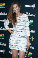 Elena Ballesteros attend the 40 Principales Awards at Barclaycard Center in Madrid, Spain. December 12, 2014. (ALTERPHOTOS/Carlos Dafonte) /NortePhoto